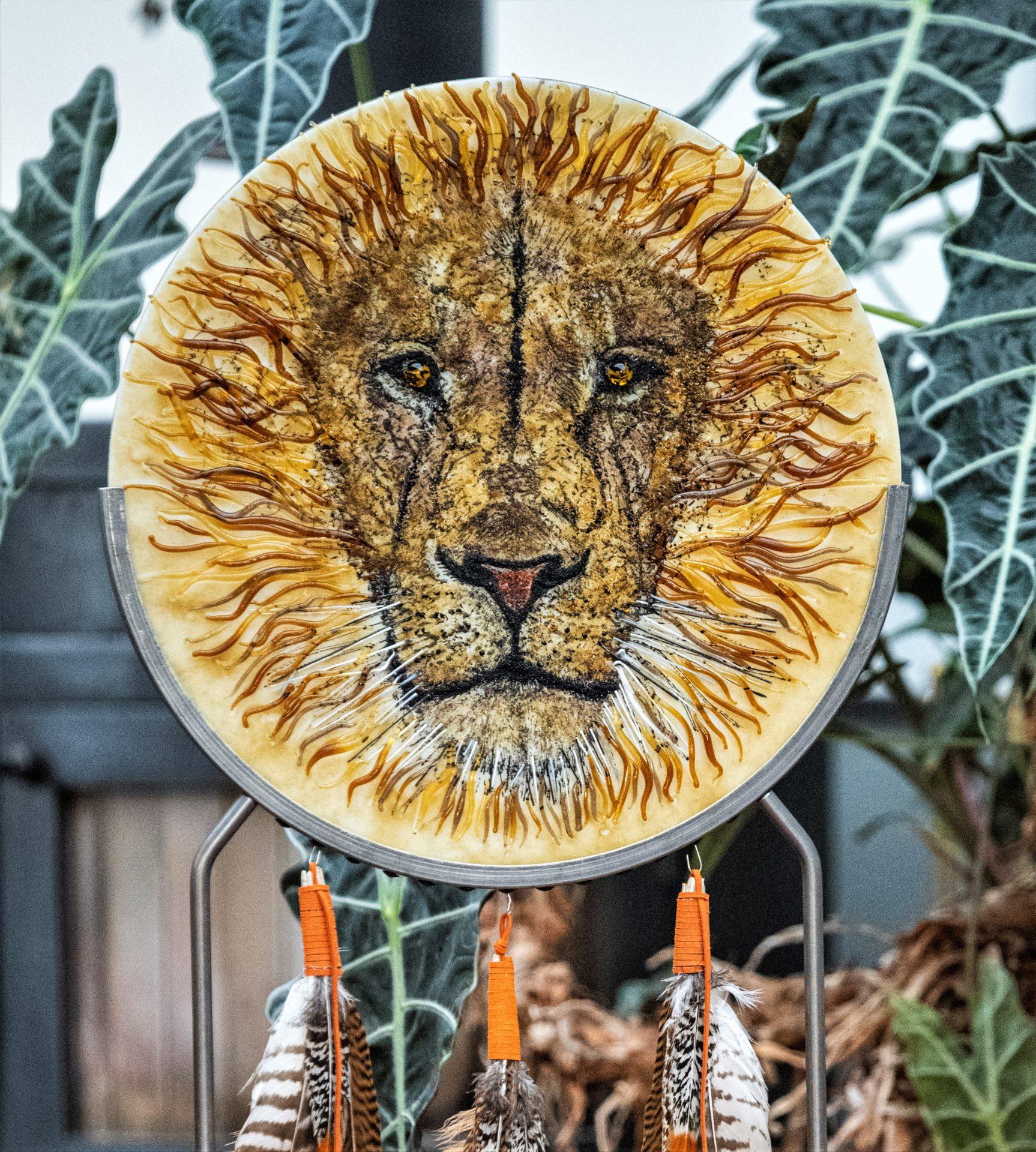 Krachtschild Leeuw